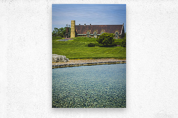 Quiet Space in the City  Metal print