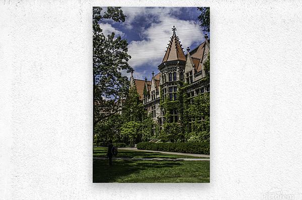 College Green  Metal print