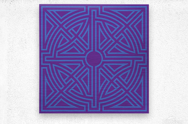 Labyrinth 6003  Metal print