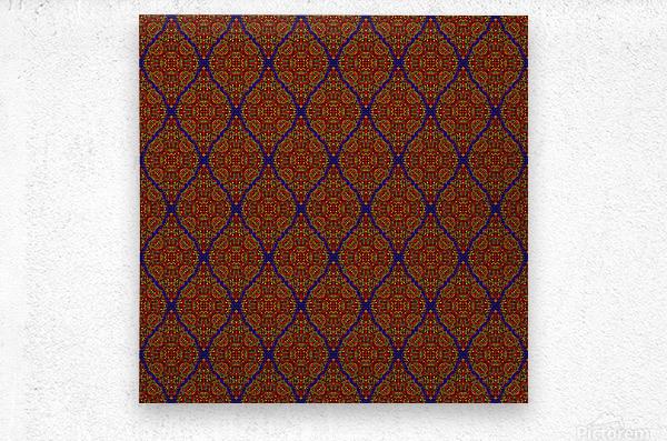 Mosaic 57  Metal print