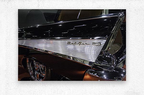 1957 Chevy Belair  Metal print