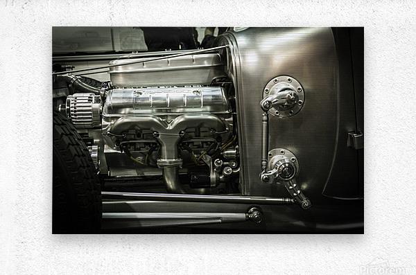 Modified Engine  Metal print