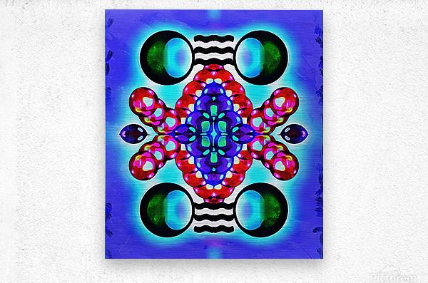 Hado Energy 7  Metal print