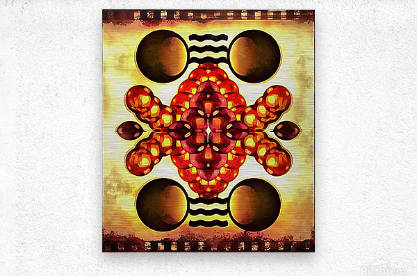 Hado Energy 9  Metal print