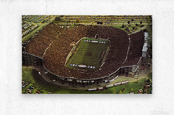 1981 Beaver Stadium Art  Metal print
