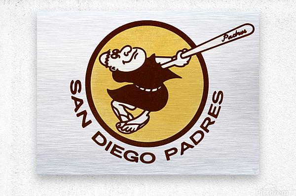 1980 San Diego Padres Wall Art  Metal print