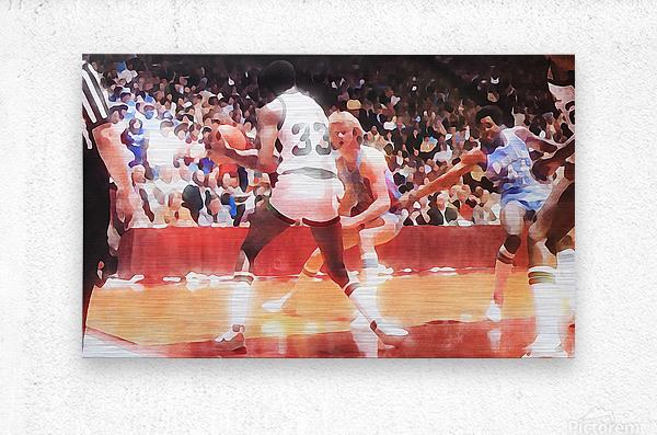1979 Magic vs. Bird  Metal print