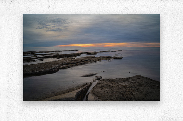 That Peaceful Place  Metal print