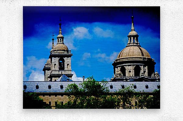 Casita del Principe 7 of 7 - Park and Gardens - The Royal Monastery of San Lorenzo de El Escorial - Madrid Spain  Metal print