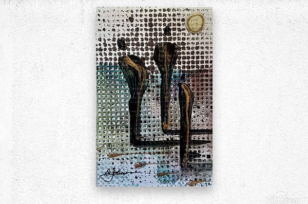 My People 2  Metal print