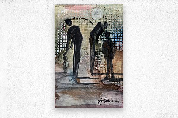 My People 1  Metal print