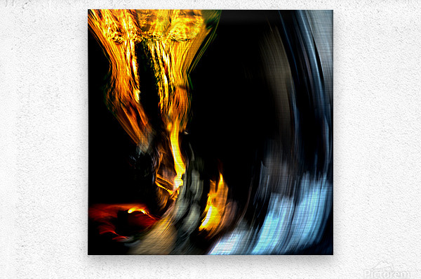 Drawn into temptation Limited edition of 5- 3 left  Metal print