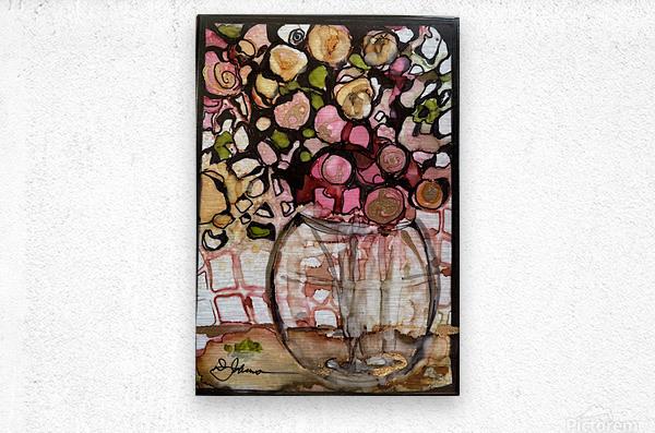 Floral Fun  Metal print