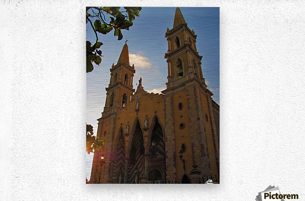 Catedral Basilica de Mazatlan  Metal print