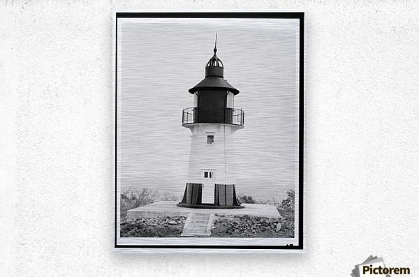Hams-Bluff-Lighthouse-US-Virgin-Islands  Metal print