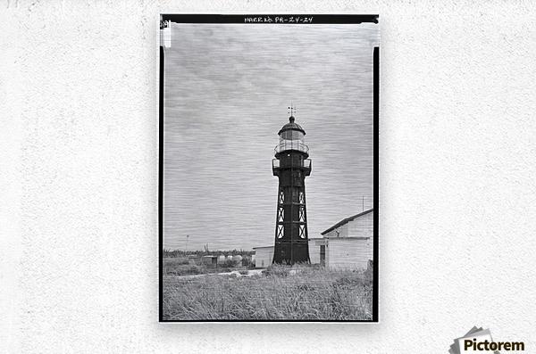 Isla-de-Mona-Light-Puerto-Rico  Metal print