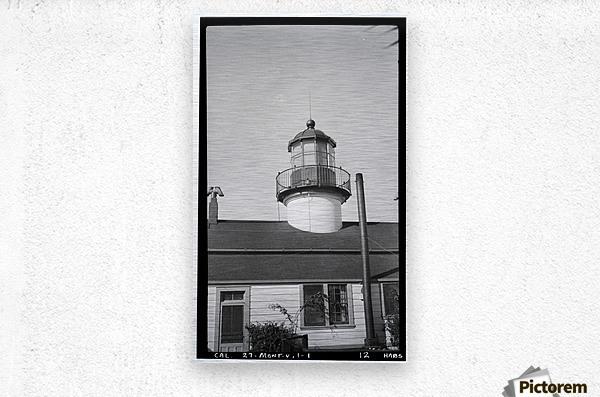Point-Pinos-Lighthouse-CA  Metal print