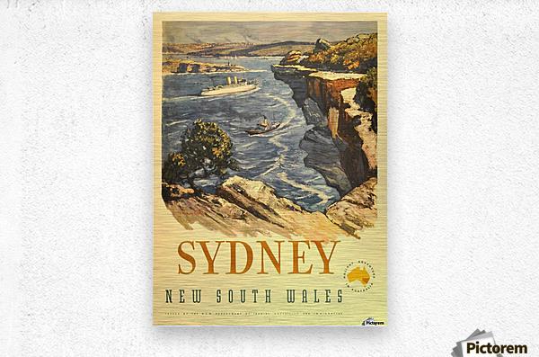 Sydney New South Wales  Metal print