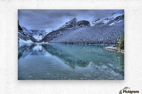 Lake Louise Winter  Metal print