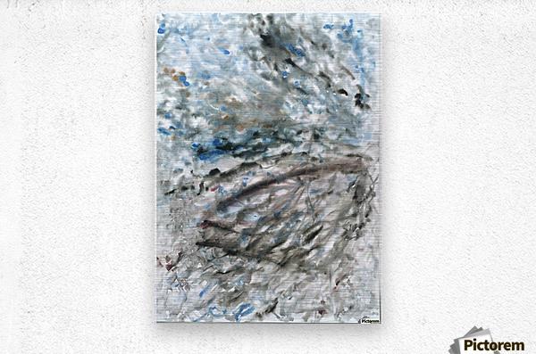 Incertitude  Metal print