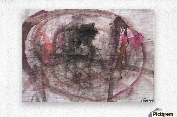 Anger 2  Metal print