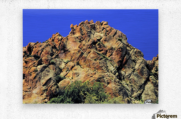 Another Rock Hill   Metal print