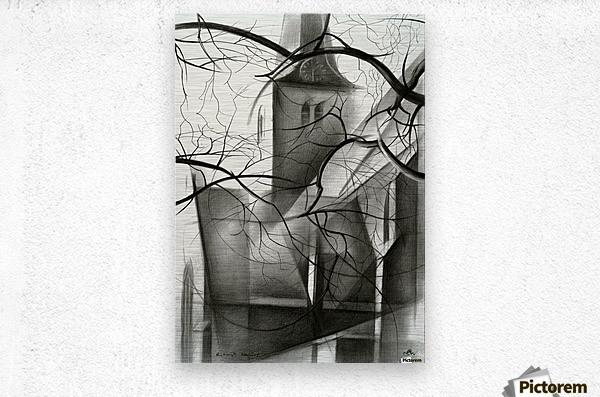 Rijswijk - 04-12-15  Metal print