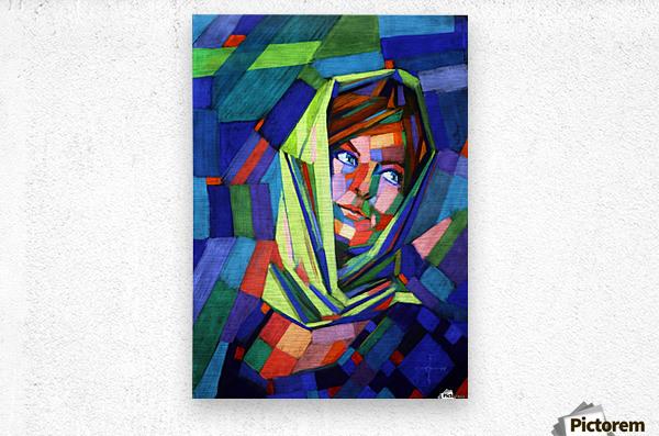 Pieternella - 18-07-15  Metal print