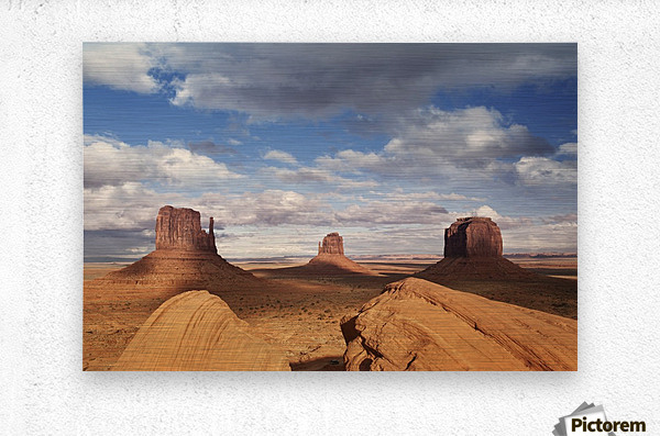 Monument valley 2  Metal print