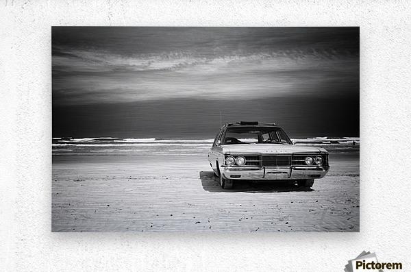 Daytona Beach 2  Metal print