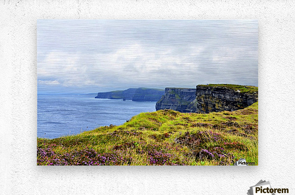 CLIFFS OF MOHER 10  Metal print