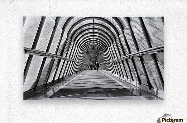 Parisienne Walkway  Metal print