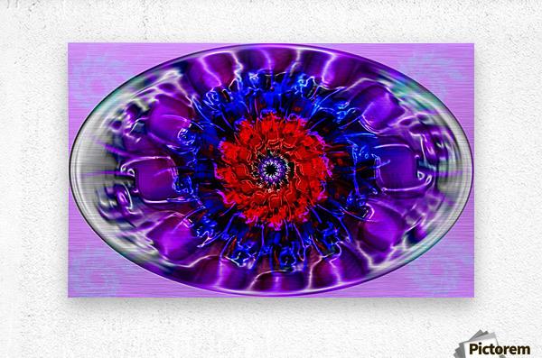Fractal Eye  Metal print