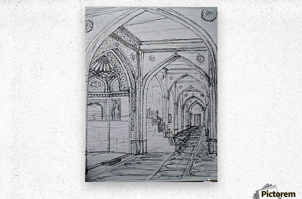 shajaani mosque  Metal print