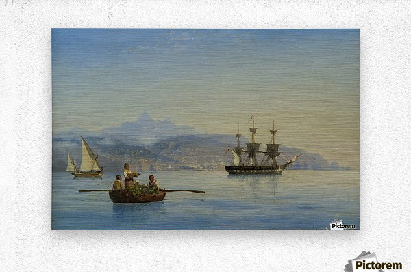 Bay of Palermo, Sicily  Metal print