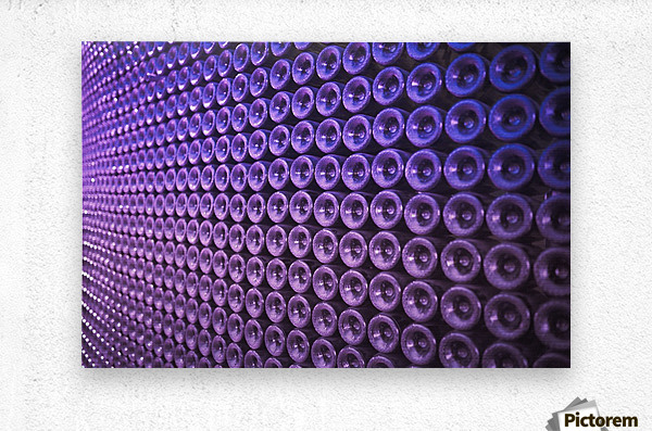 Wine Wall  Metal print