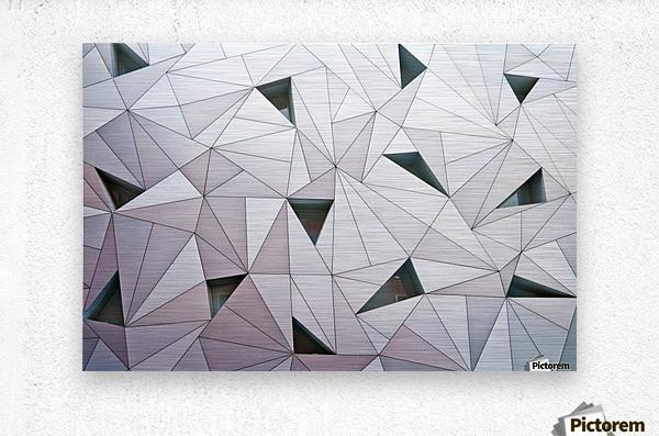 triangulation 1  Metal print