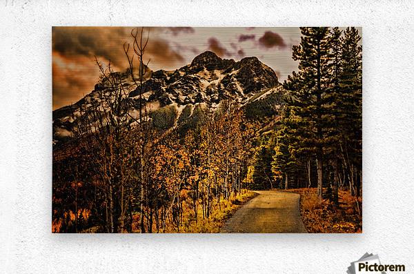 Rocky Mountain Way  Metal print