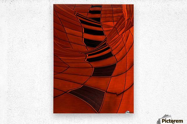Carenza  Metal print