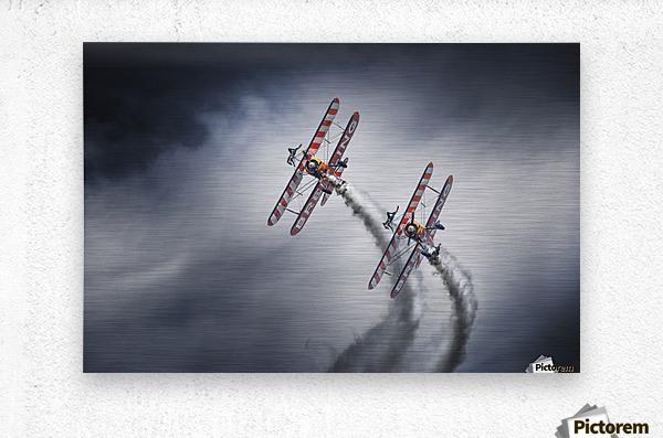 WingWalkers  Metal print