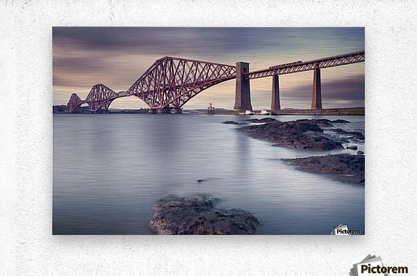 Forth Rail Bridge  Metal print