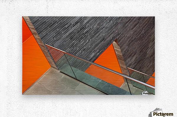Repeat the orange  Metal print