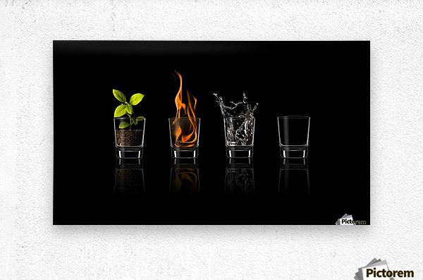 Elements...  Metal print