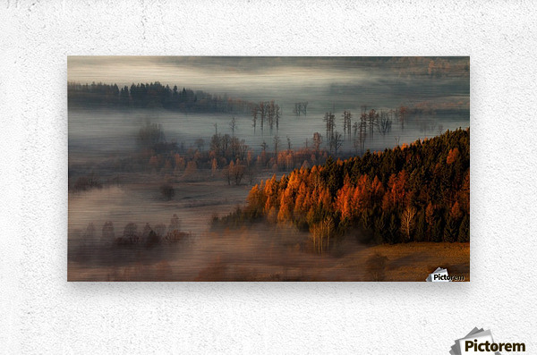 At the gates of the valley.  Metal print