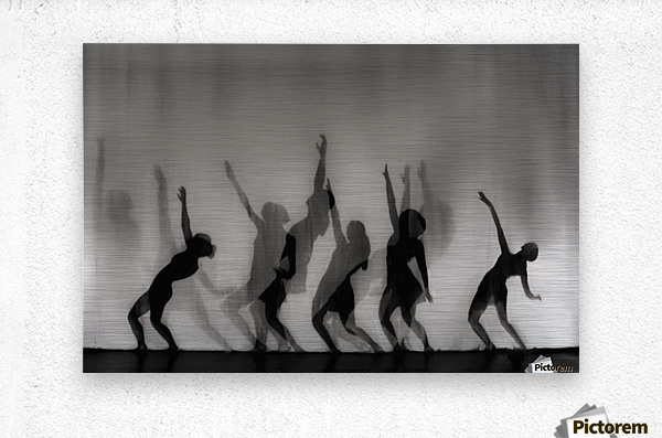 Dance is the language of the soul ...  Metal print