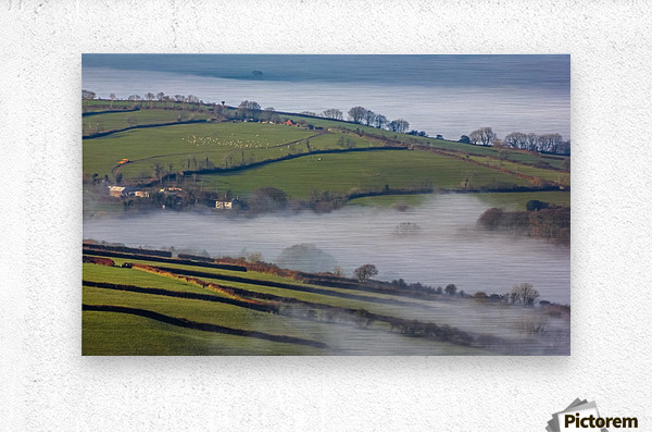 Agricultural mist  Metal print