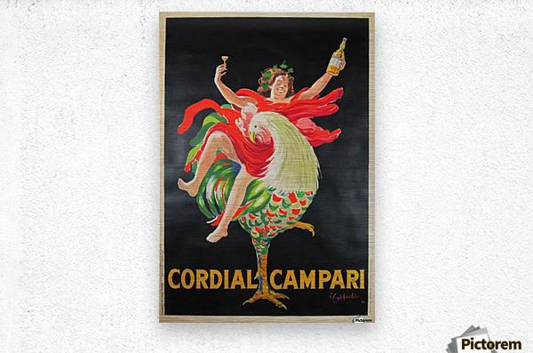Cordial Campari  Metal print