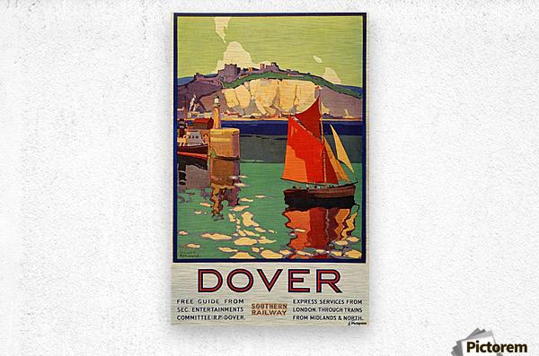Dover Southern Railway  Metal print