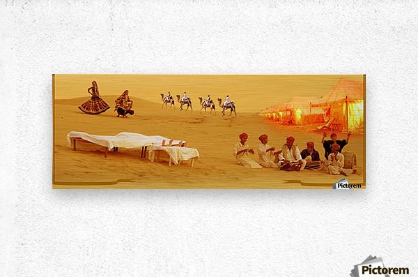 Rajasthan Tours  Metal print