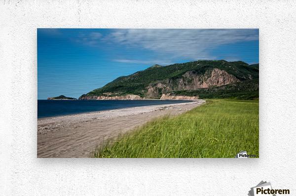 Petit Etang Beach Memories-2  Metal print
